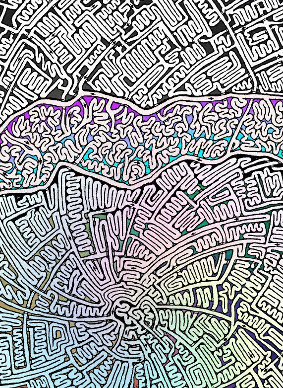 Mammoth Maze 5 closeup