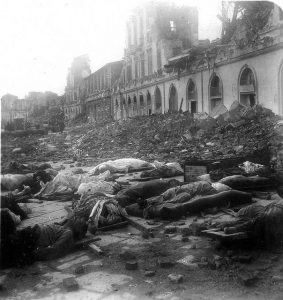 The Messina earthquake and tsunami took as many as 200,000 lives on December 28, 1908 in Sicily and Calabria.